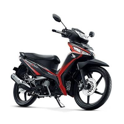 Honda Supra X 125 FI STD Energetic Red