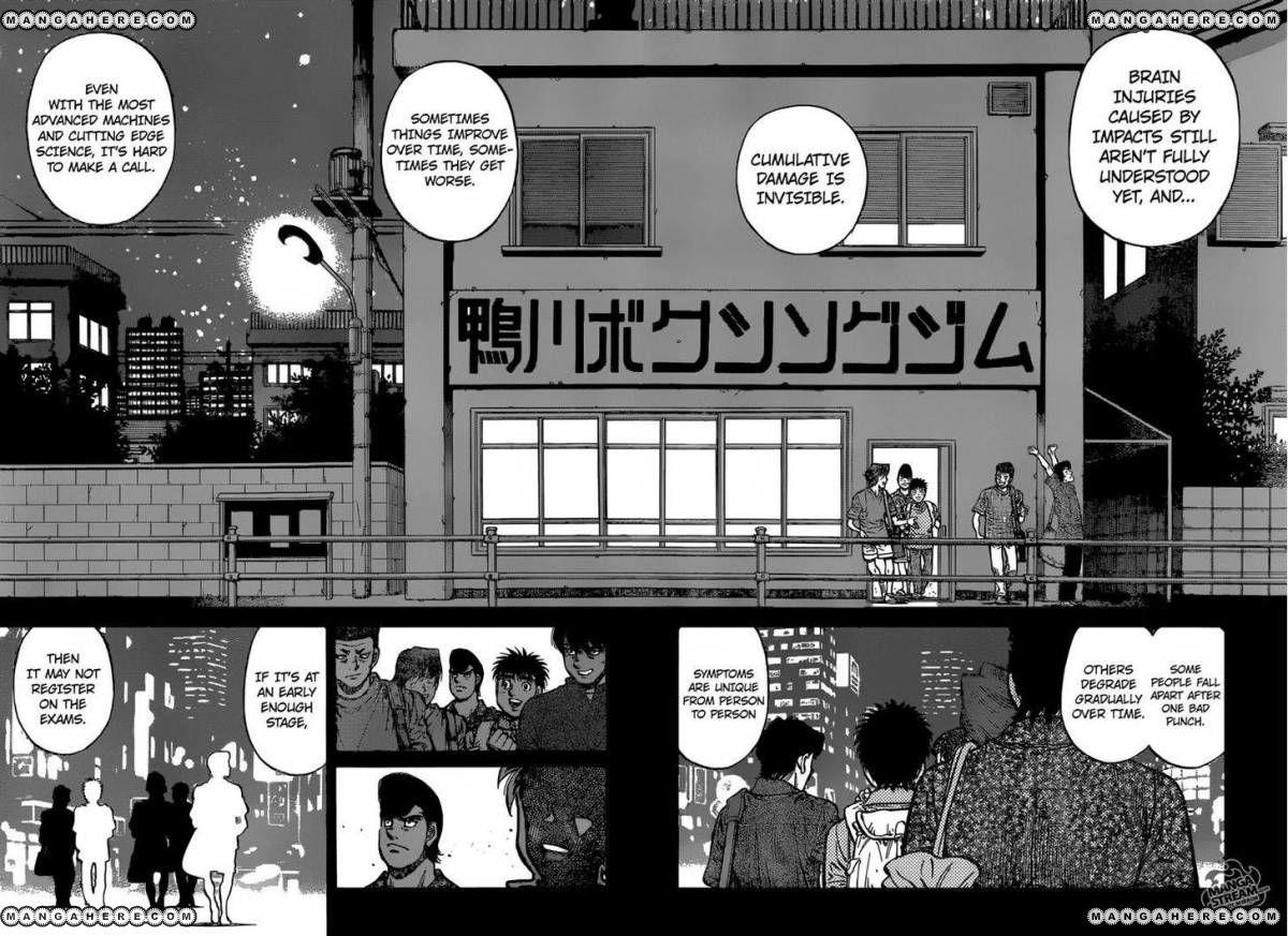 Hajime no Ippo - Chapter 1153