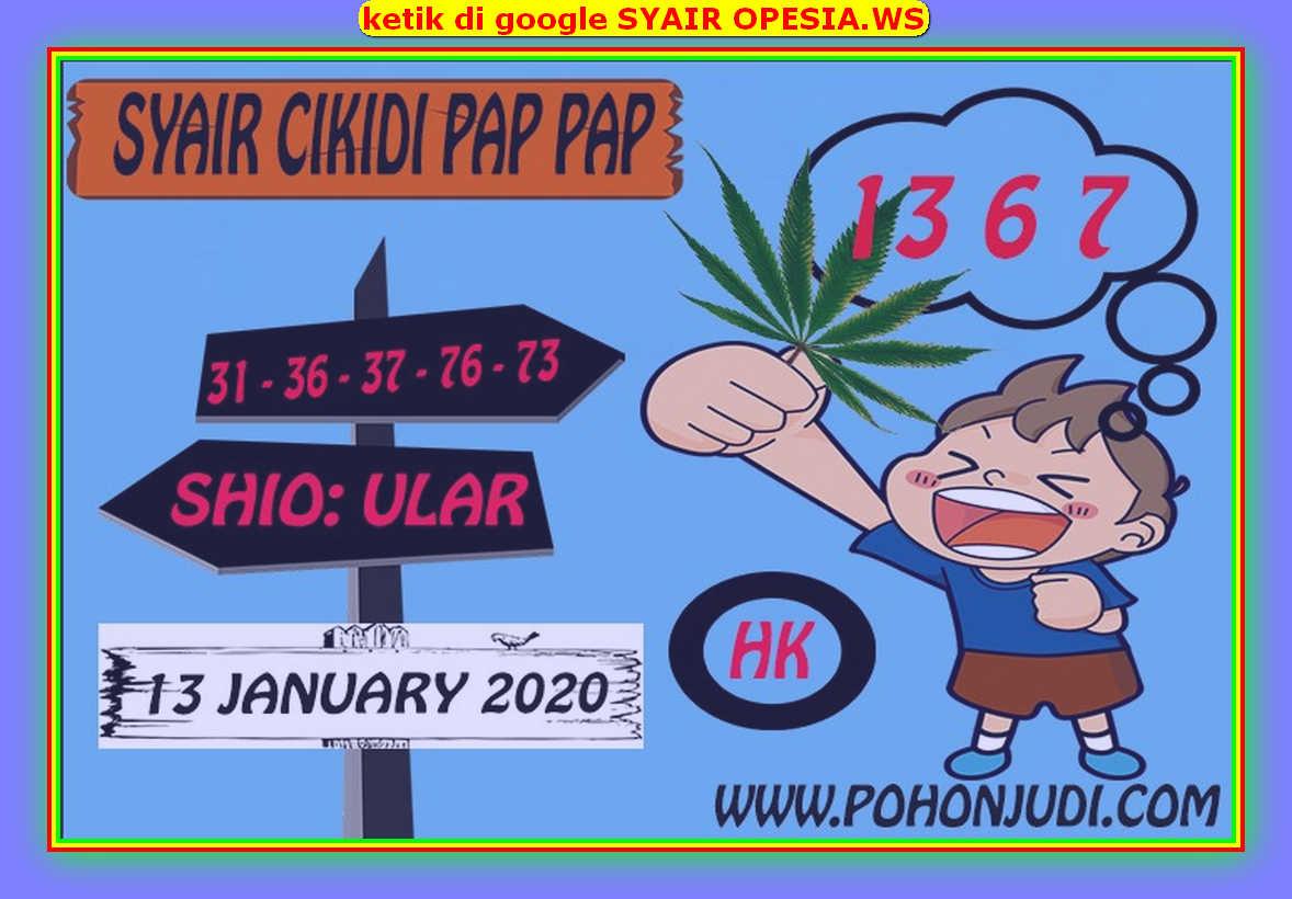 Kode syair Hongkong Senin 13 Januari 2020 144