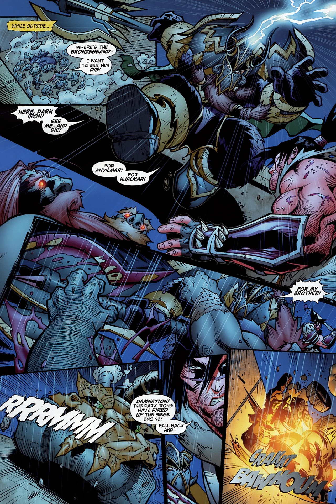 Read online World of Warcraft comic -  Issue #10 - 21