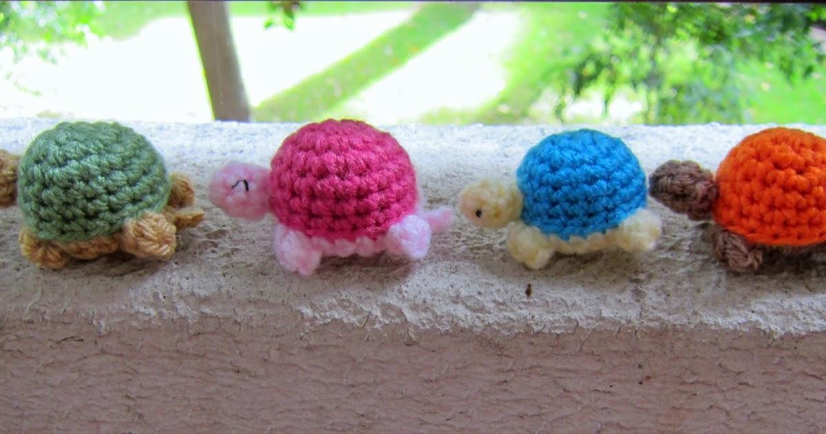 Incy Wincy Me: Free Pattern: Crochet/Amigurumi Mini Turtle