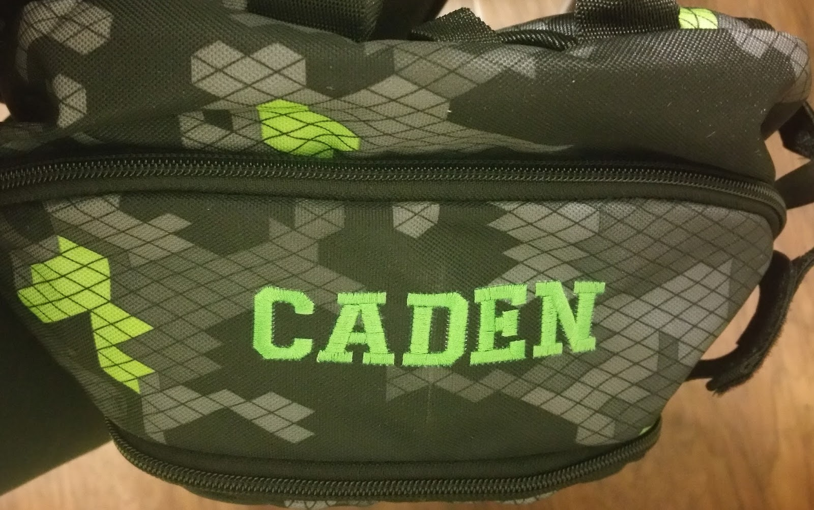 29c8bab61593 Under Armour Personalized Embroidered Backpack for T-Ball. Posted by Kate s  Embroidery and Crafts at 8 23 PM