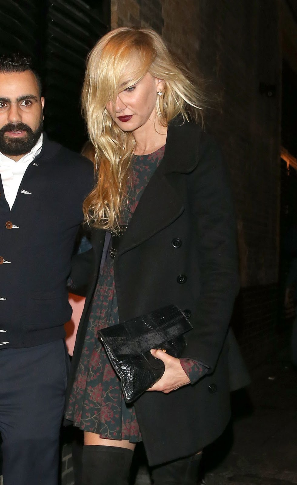Kimberly Stewart Leaves Chiltren Firehouse In London