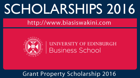 Giant Property Entrepreneurship Scholarship 2016