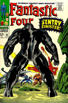 Fantastic Four #64, the Sentinel