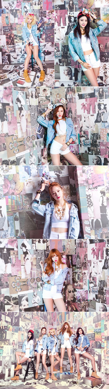 Enjoy Korea EXID Ah Yeah MV EXID Ah Yeah teaser EXID Ah Yeah Music video EXID Ah Yeah photo exid un&down Girls Generation Hani Hui hyelin Junghwa K pop K-pop Solji LE EXID Ah Yeah lyrics
