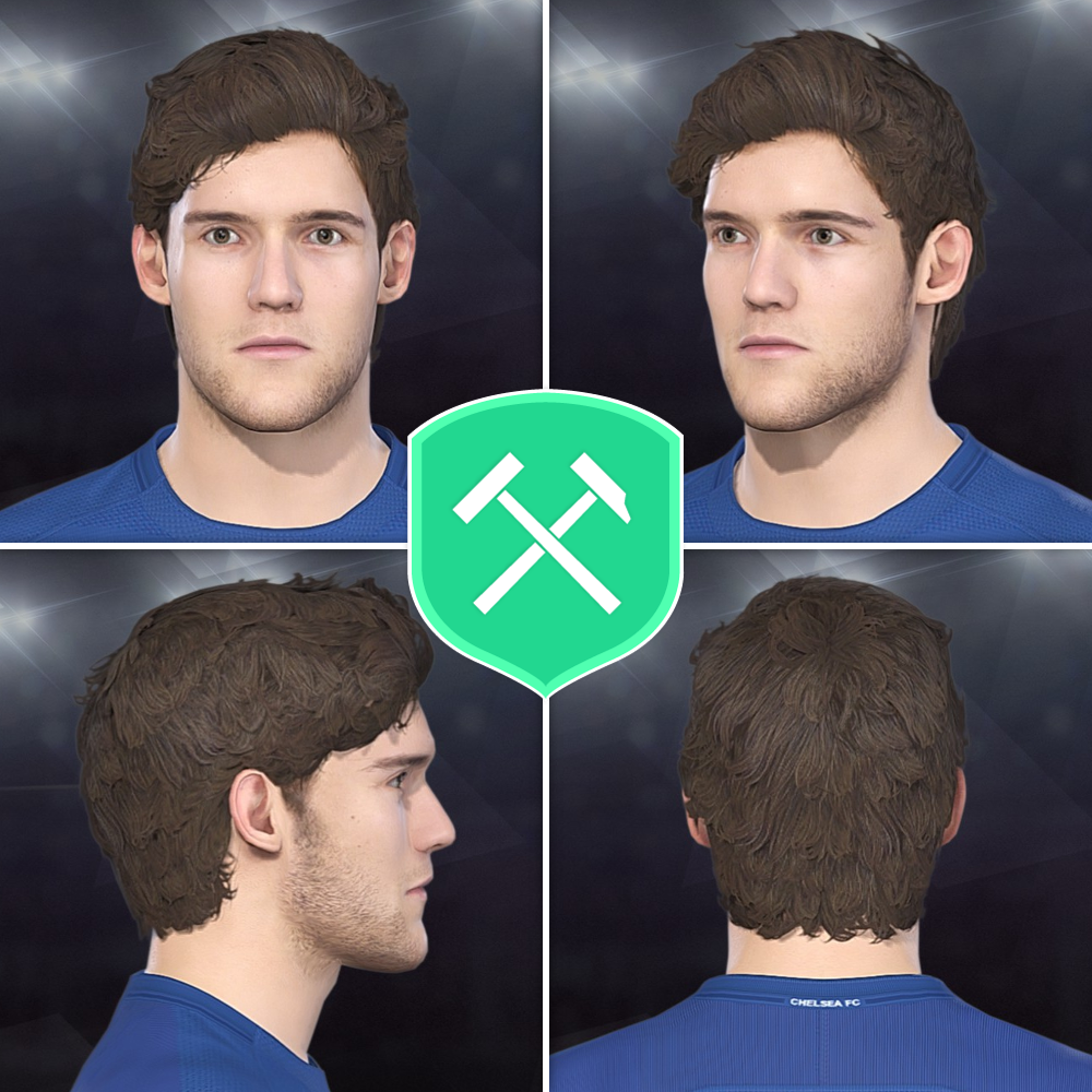 PES 2018 Marcos Alonso [Chelsea FC] Face by Volun