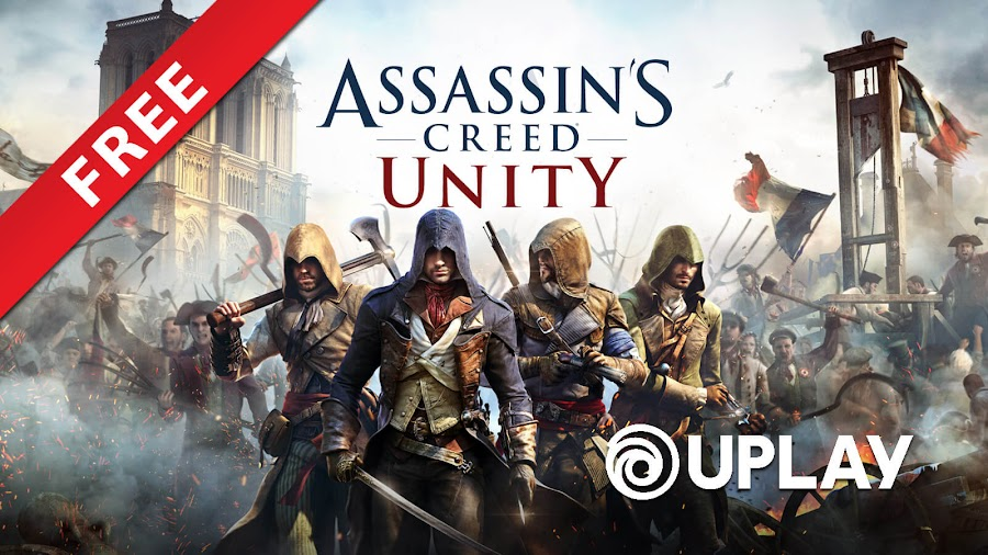 /assassins creed unity free pc uplay notre dame ubisoft