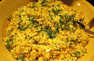 Israeli Couscous Tabbouleh Recipe
