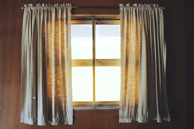 Close the curtains at night to help keep your home's warm air inside and the cold winter air outside.