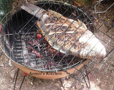 Ikan bakar khas Manado