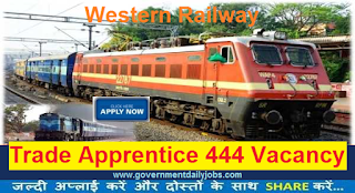 WR Recruitment 2017 Apply for 444 Apprentice Trainee Jobs