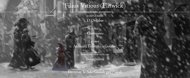 Scheda del professor Filius Vitious (Flitwick)