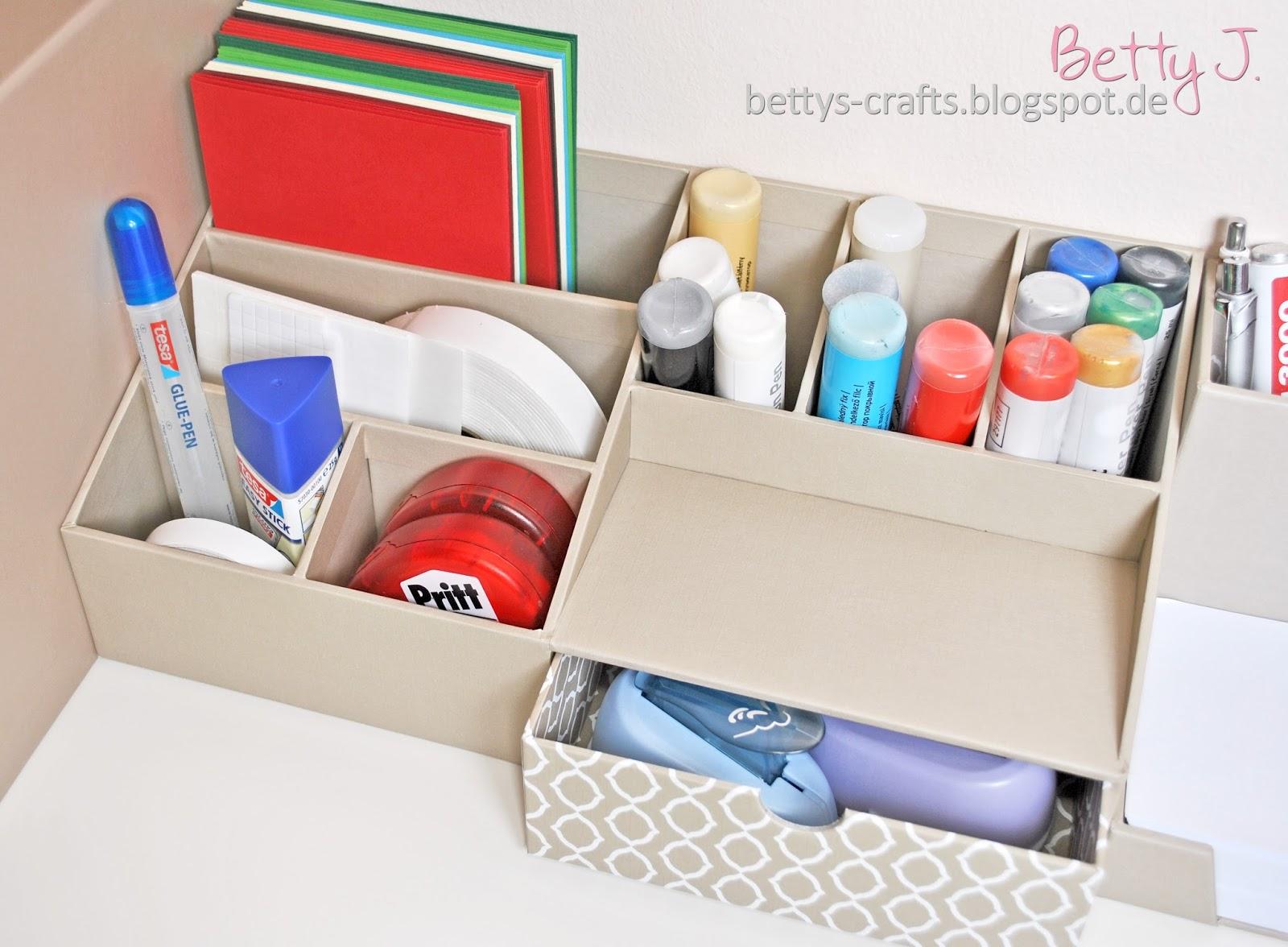 bettys crafts tchibo paket auspacken zum thema ordnung am schreibtisch. Black Bedroom Furniture Sets. Home Design Ideas