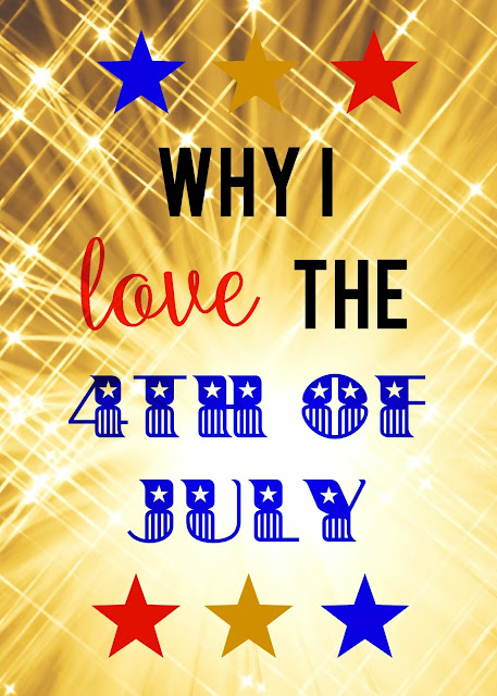 I love the 4th of July!  It is a wonderful reminder of those who have served and are currently serving.  We are so blessed.