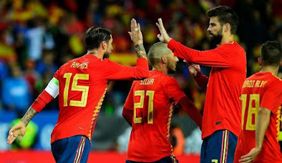 Live Streaming Spanyol vs Rusia