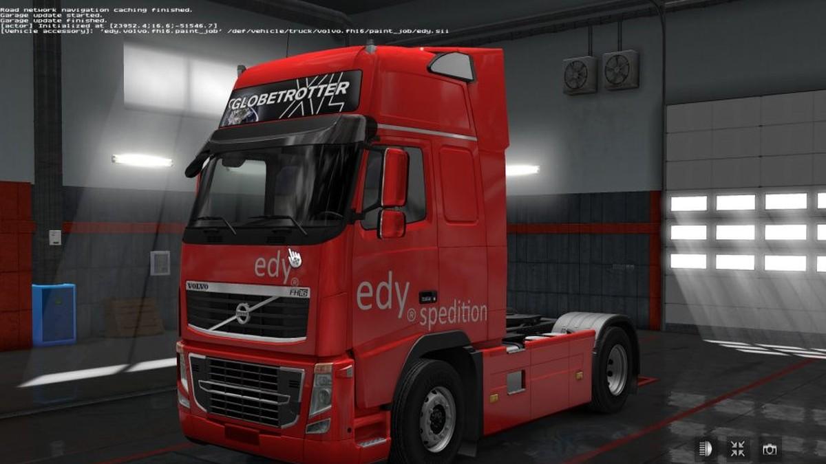 Volvo 2009 Edy Spedition Skin