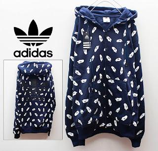 Jaket & Sweater Fleece Hoodie Adidas ADS001