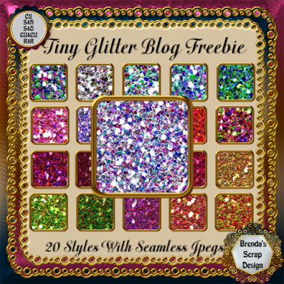 New R4R Blog Freebie....Tiny Glitter