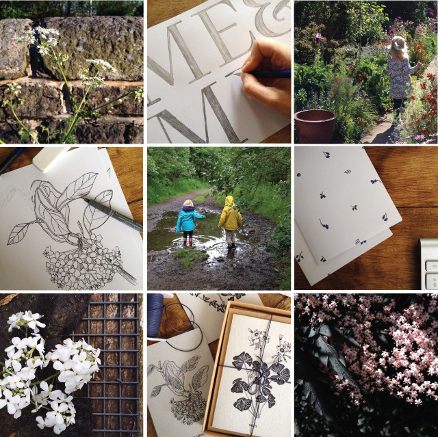 Alfies Studio Instagram  - work and life shared online