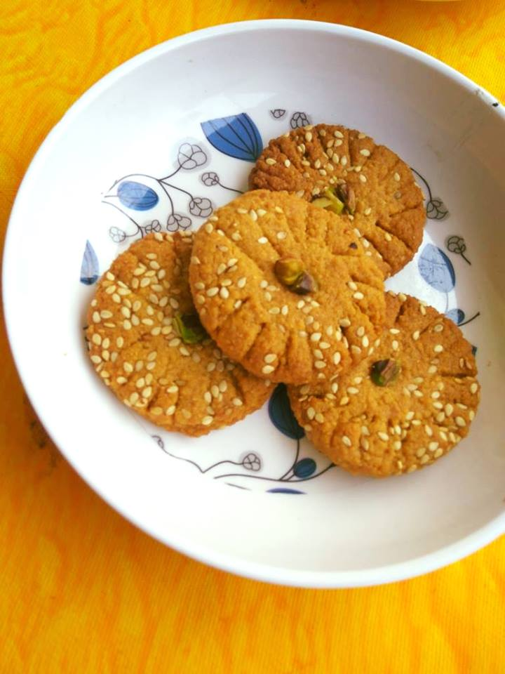 Gluten-Free Besan Cookies With Jaggery: Baking With Chickpea
