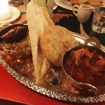Vegan vegetable curry in York