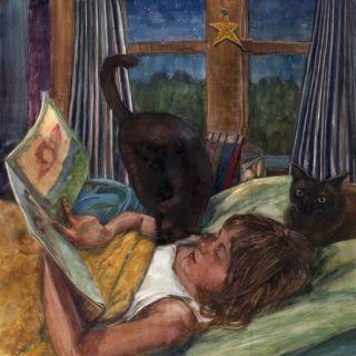 Любовь к живописи в акварельной технике. Belinda Del Pesco