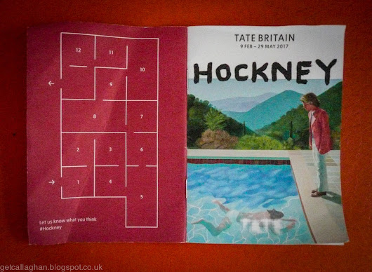 David Hockney at the Tate Britain