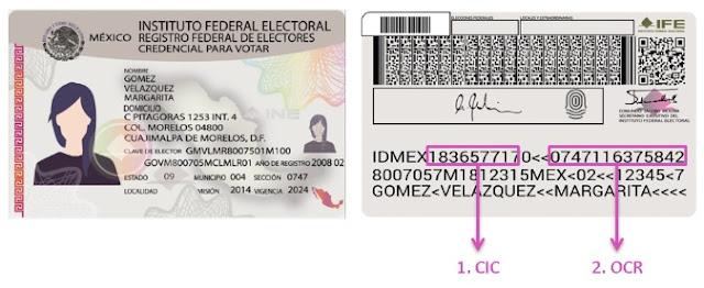 Elecciones, códigos, barras
