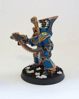 Thousand Sons Scarab Occult Terminator with Hellfyre Missile Rack