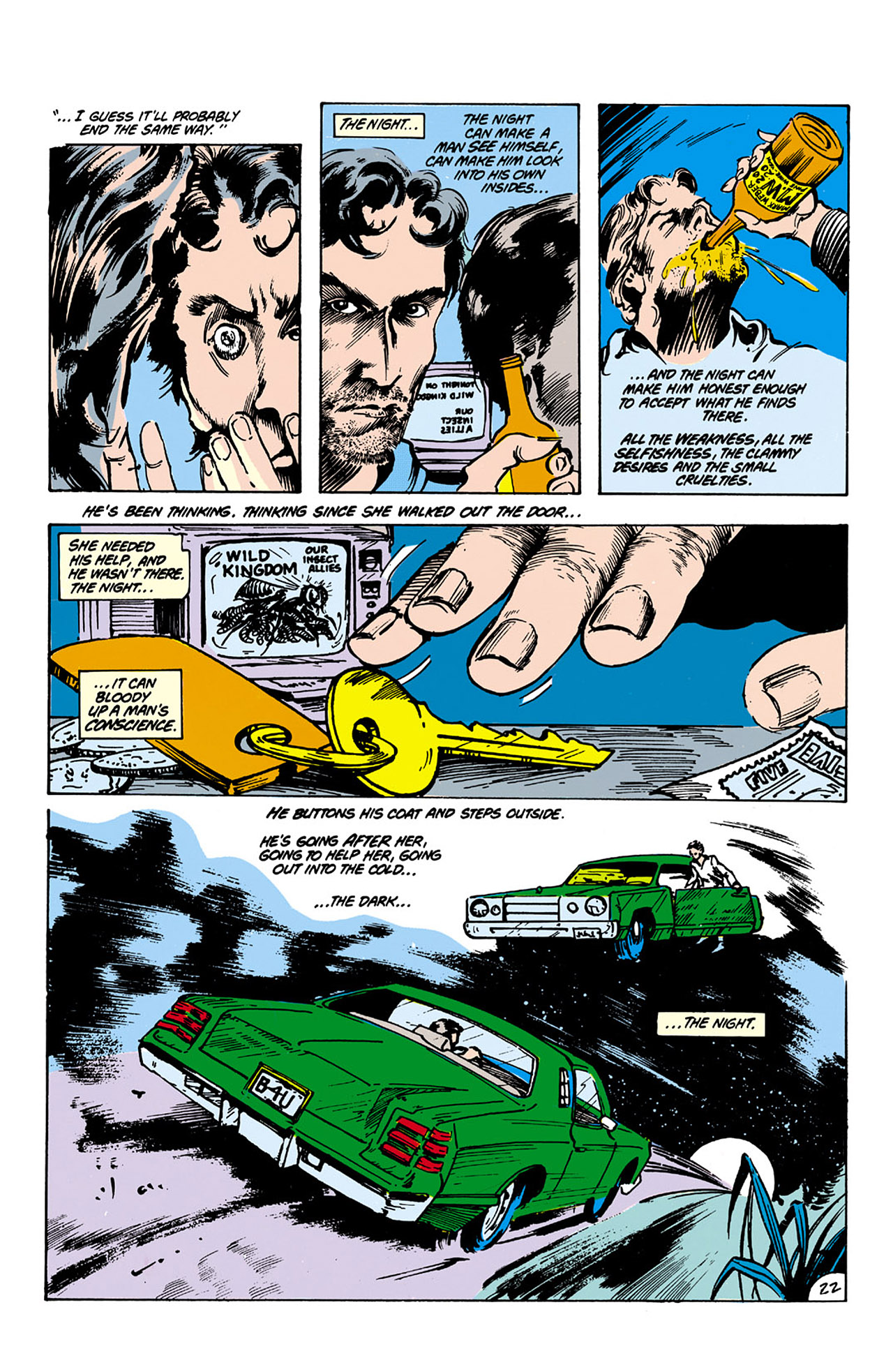 Swamp Thing (1982) Issue #26 #34 - English 22