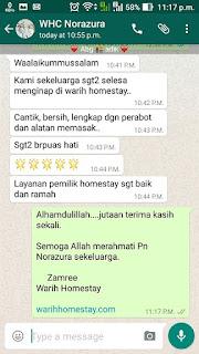 Warih-Homestay-Testimoni-Pn-Norazura