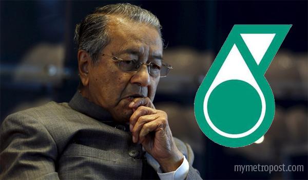 Jawatan Tun M sebagai Penasihat Petronas ditamatkan