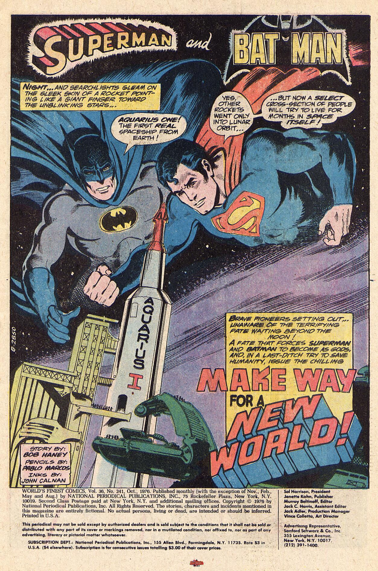 Read online World's Finest Comics comic -  Issue #241 - 2