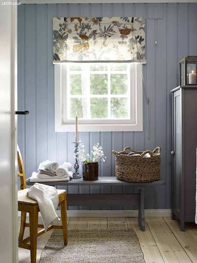 A Swedish Cottage In Delightful Colors