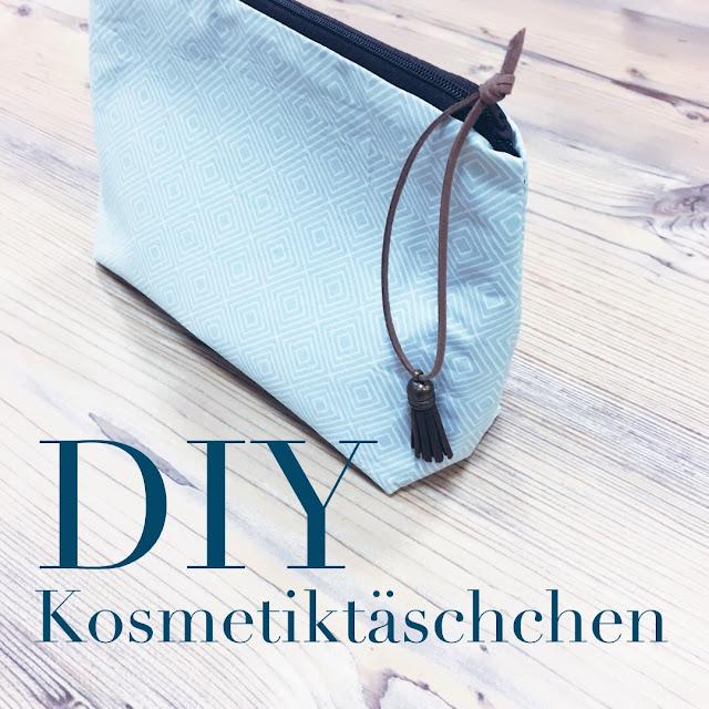GrinseStern, DIY, selbermacher, nähanleitung, kosmetiktasche, kosmetiktäschchen, nähliebe