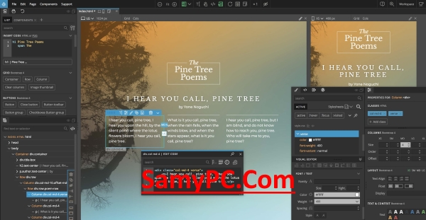 Pinegrow Web Editor Pro Free Download Full Version