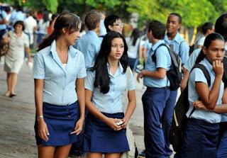 élèves cubains