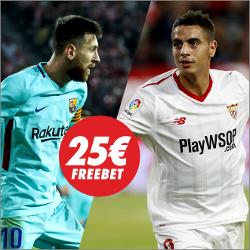 circus promocion 25 euros Barcelona vs Sevilla 4 noviembre