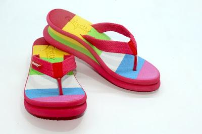 jual sandal pretty, harga sandal pretty, agen sandal wanita