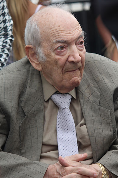 Viktor Korchnoi, grand-maître international d'échecs en 2016 - Photo © Chessbase