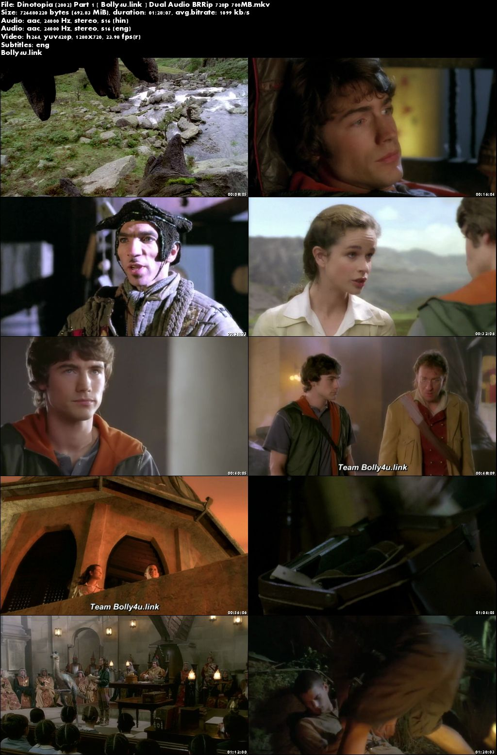 Dinotopia 2002 Part 1 BRRip 300MB Hindi Dual Audio 480p Download