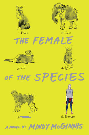 The Female Of The Species Mindi McGinnis Cover