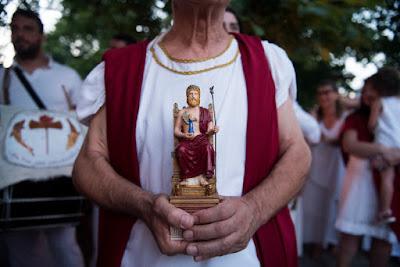 Δωδεκαθεϊστές συγκεντρώθηκαν στον Όλυμπο και ορκίστηκαν πίστη στους δώδεκα θεούς