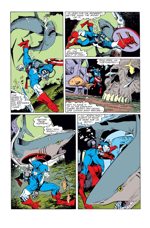 Captain America (1968) Issue #360 #293 - English 5