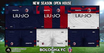 PES 6 Kits Bologna F.C. 1909 Season 2018/2019 by Alessandro