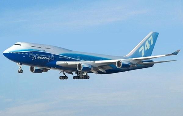 Máy bay Boeing 747-8 VIP