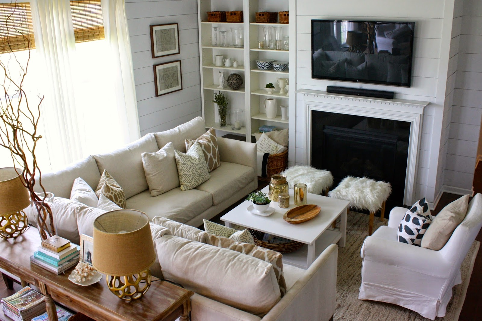 How To Arrange My Awkward Living Room