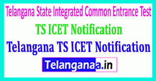 Telangana TS ICET Notification Download