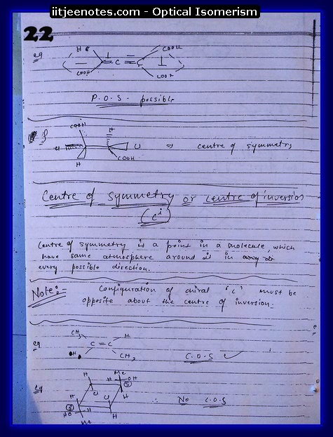 Optical Isomerism Notes 5